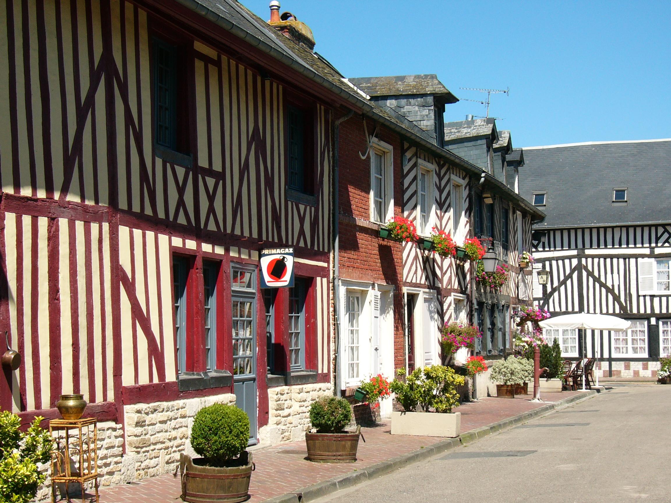 Restaurant Honfleur Vue Mer
