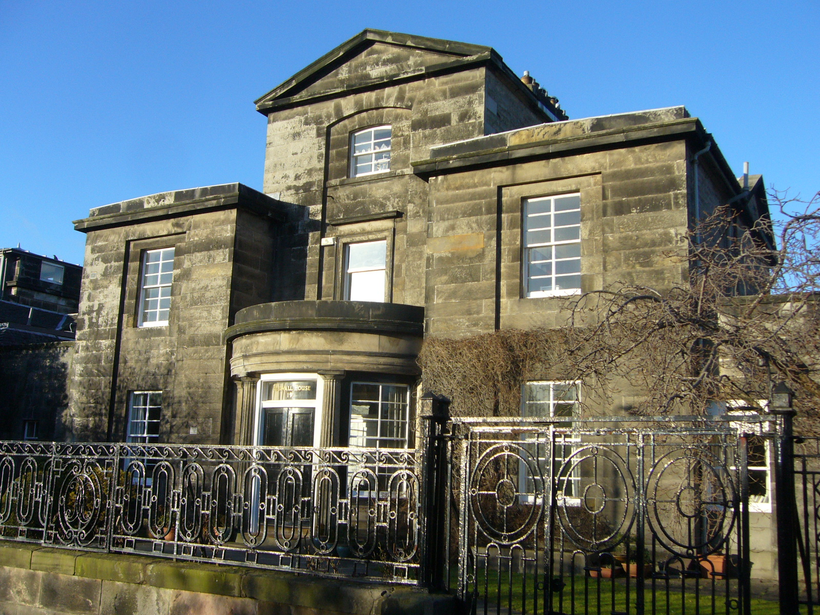 File Boswall House Wardie Edinburgh Jpg Wikimedia Commons