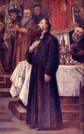 Soubor:Brozik, Vaclav - Jan Hus souzen na snemu Kostnickem r. 1415.jpg