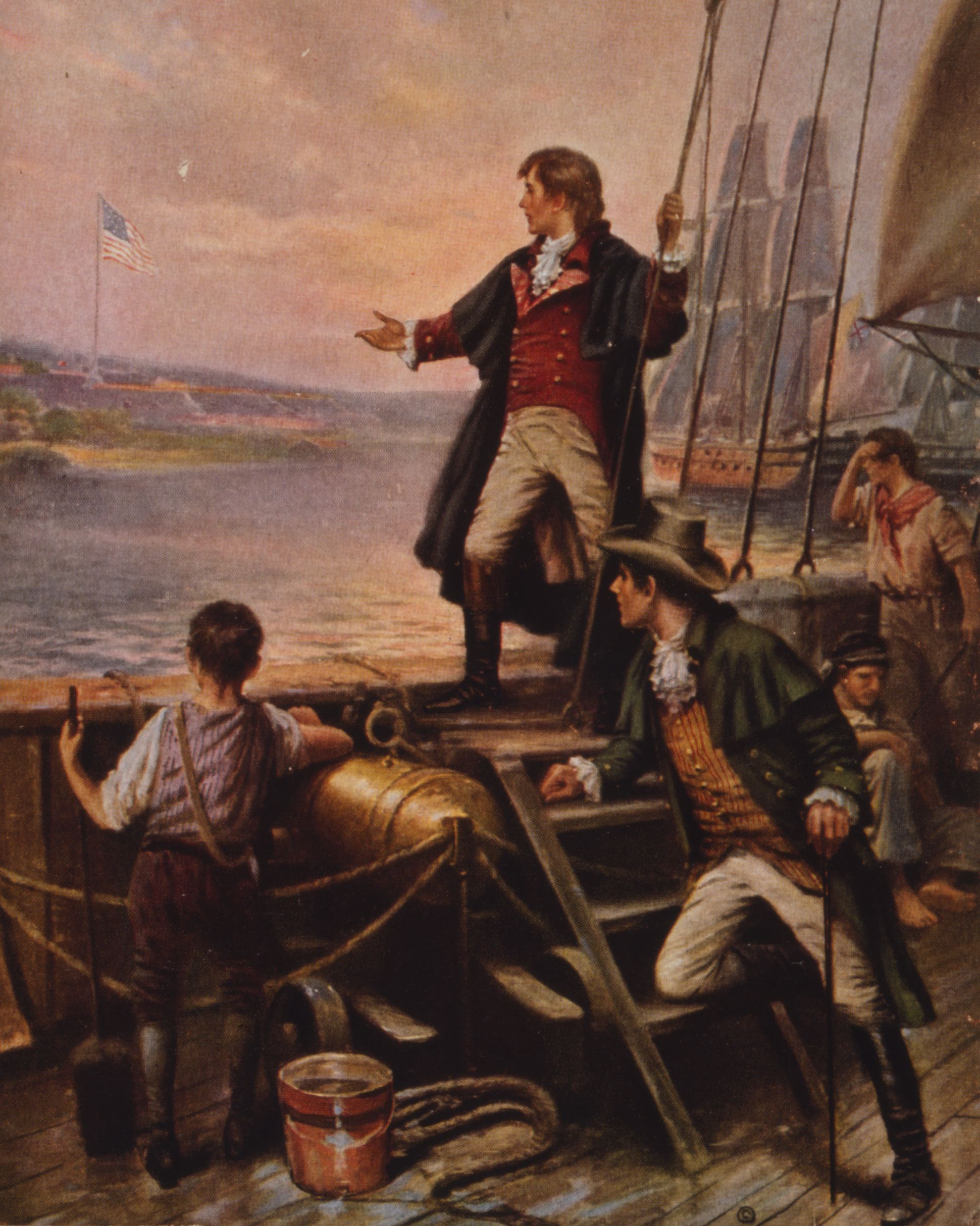 Francis Scott Key, War of 1812, By Dawn's Early Light