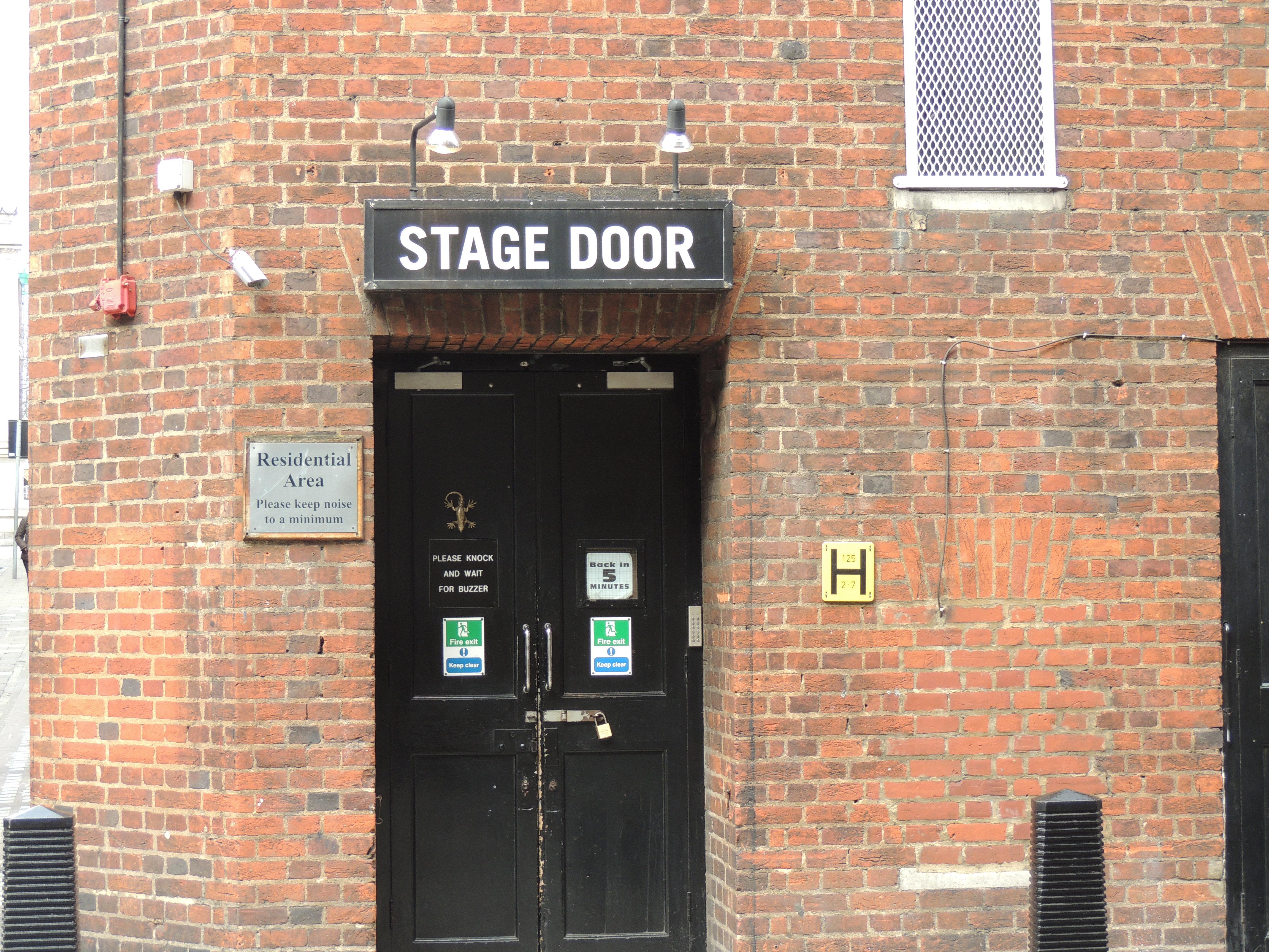 Stage Door & Picture