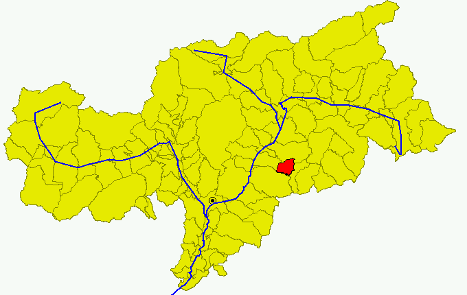 Depiction of Ortisei