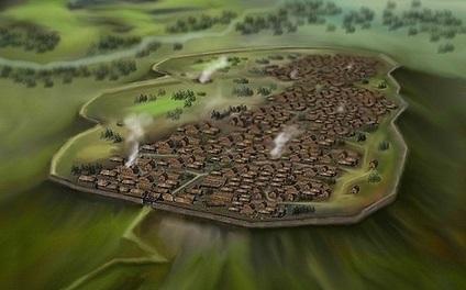 Celtic Oppidum 1st century B.C.