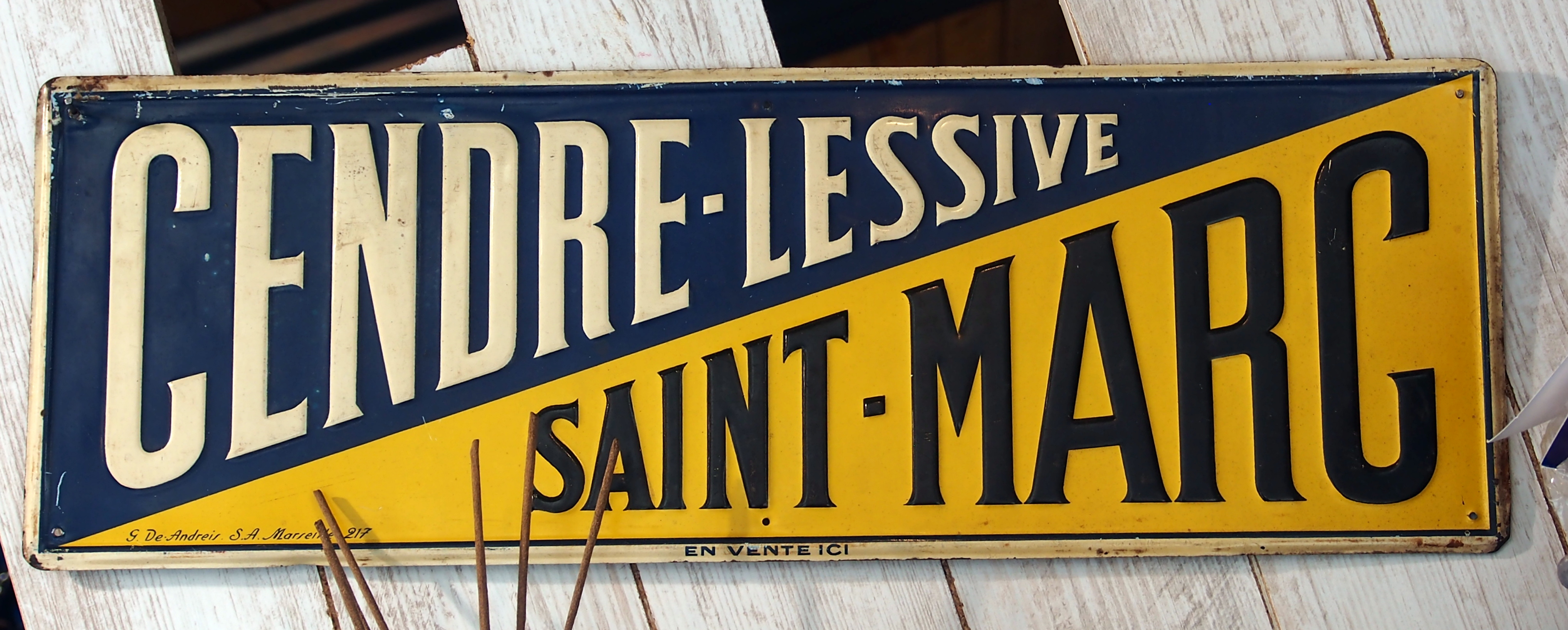 File cendre lessive saint marc advertising sign jpg - Lessive saint marc oxydrine ...