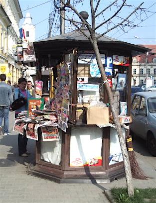 Fișier:Chiosc ziare Cluj-Napoca.jpg - Wikipedia