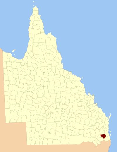 Queensland Tourist Map  Sunshine Coast Australia