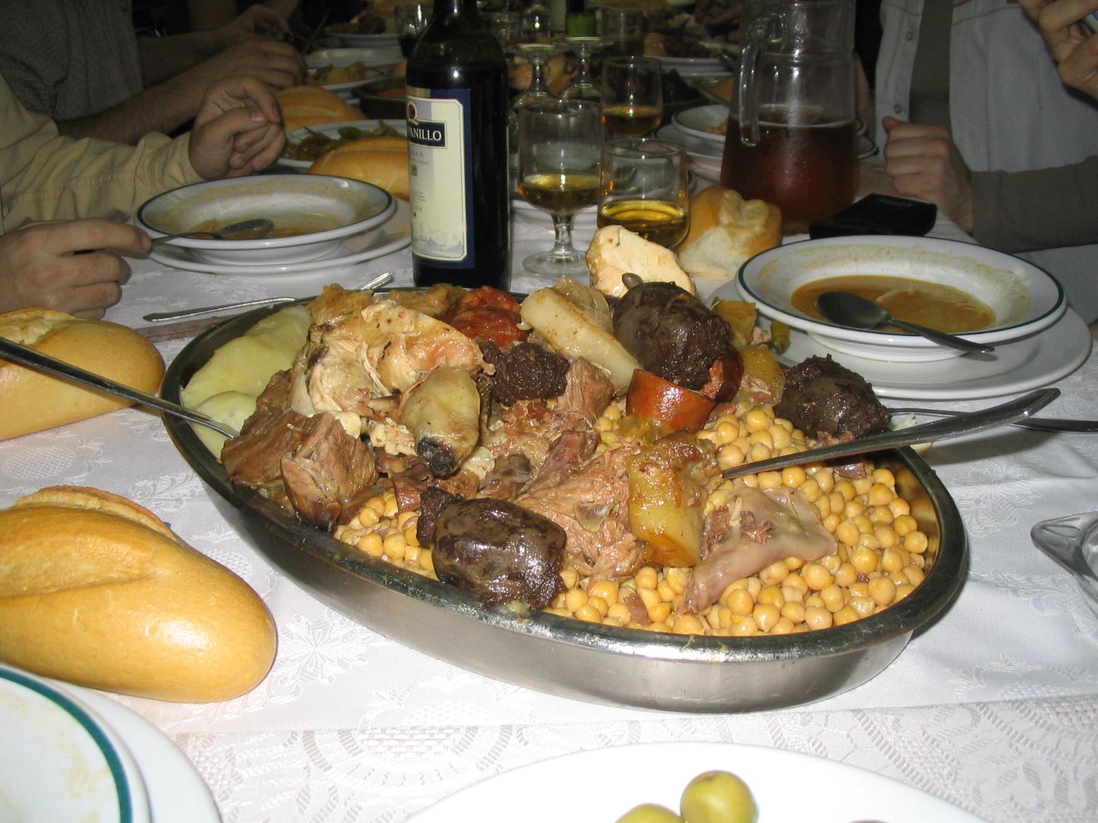 Cocina Madrileña | Gastronomia De Madrid Wikipedia La Enciclopedia Libre