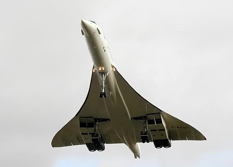 Concorde 216 (G-BOAF) last flight