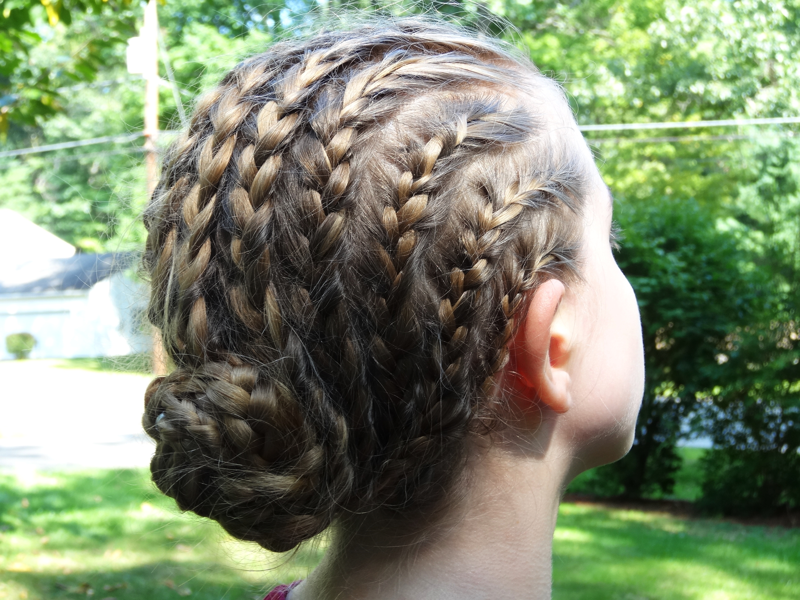 File:Cornrows Into Braided Bun.JPG