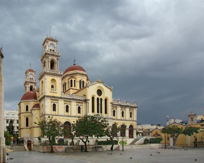 Собор Святого Мины в г. Ираклион