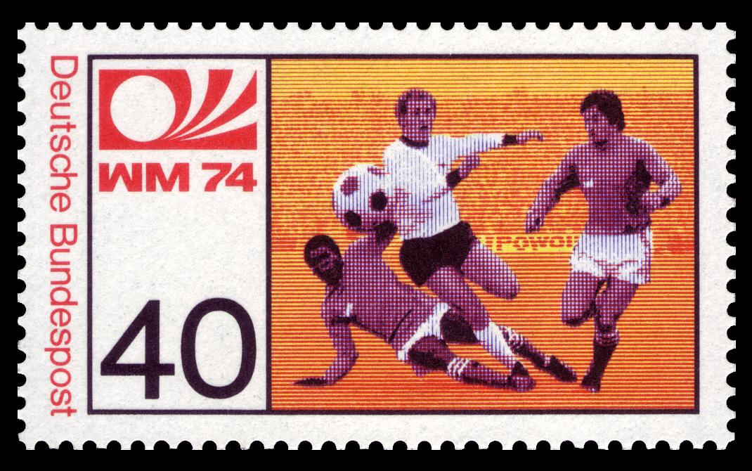 File Dbp 1974 812 Fussball Weltmeisterschaft Jpg Wikimedia
