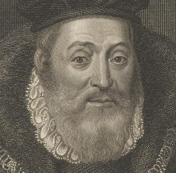 Detail of an engraving of a portrait of James Hamilton Duke of Chatellerault and 2nd Earl of Arran.