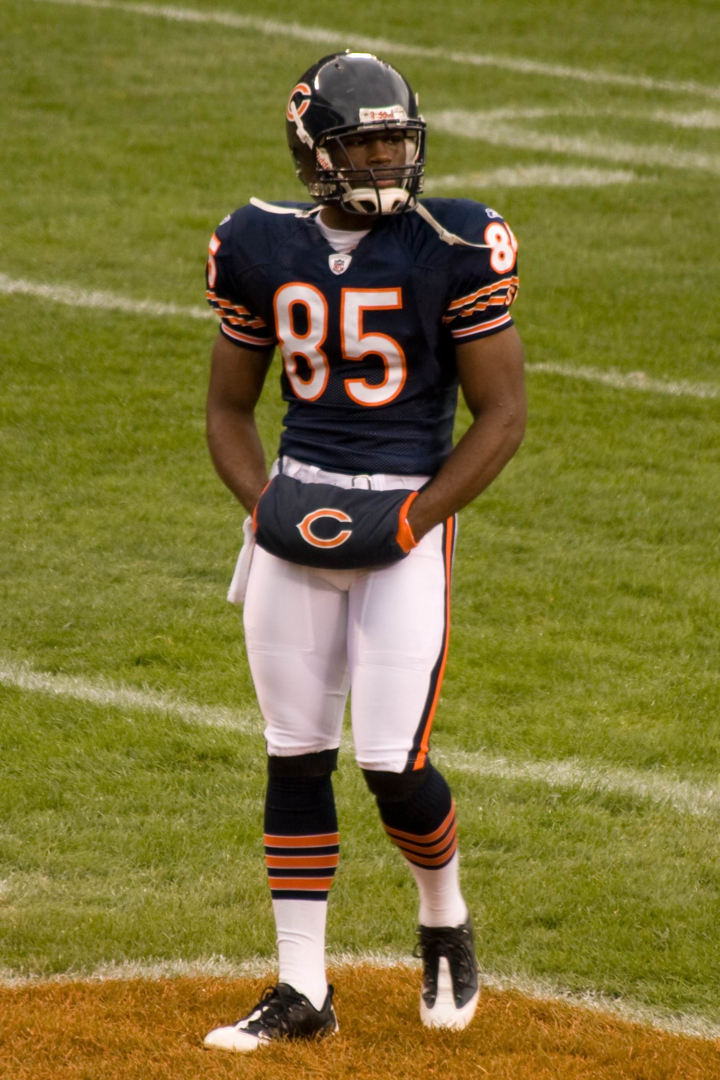 timeless design c6fd0 0efda Logos and uniforms of the Chicago Bears - Wikipedia