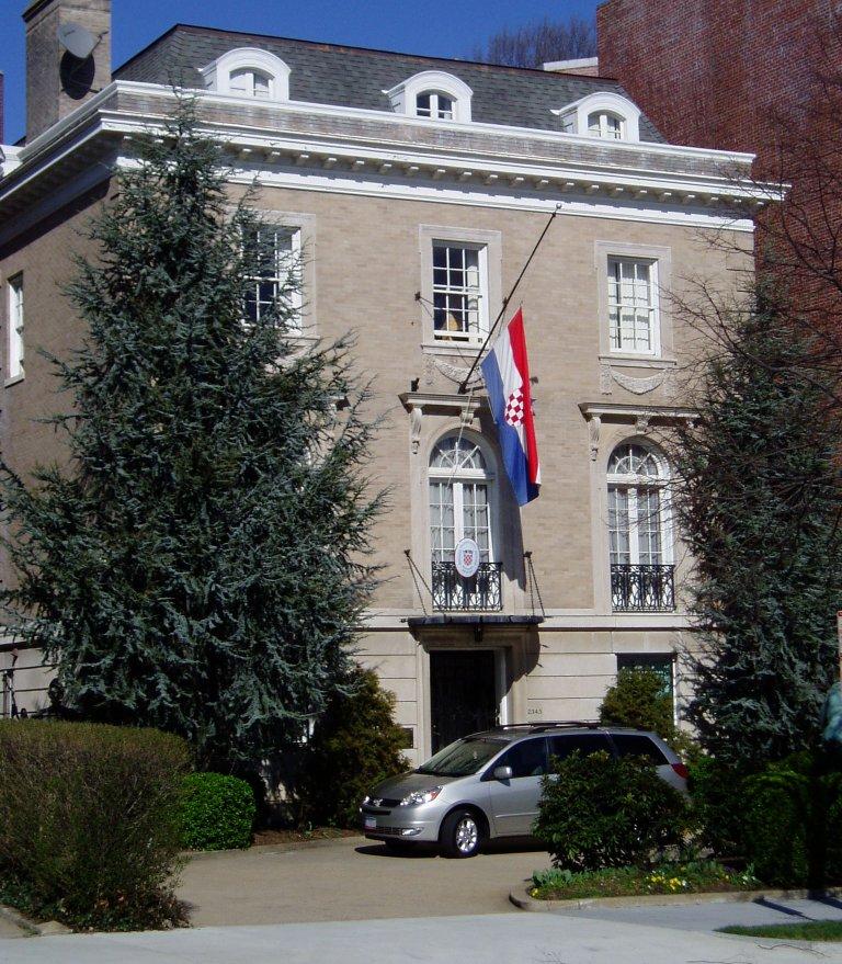 Embassy of Croatia in Washington, D.C., United States