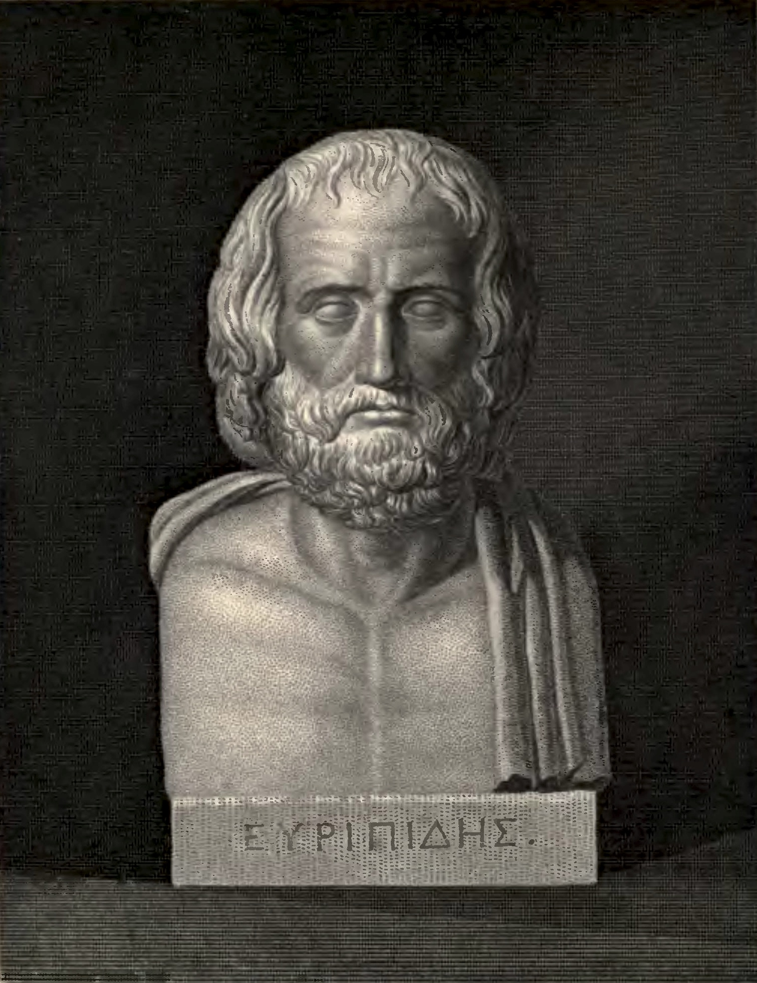 biography of euripides A contemporary of the second of the tragedy trio, sophocles, euripides was born  around 484 bc, possibly on salamis, although that may be a.