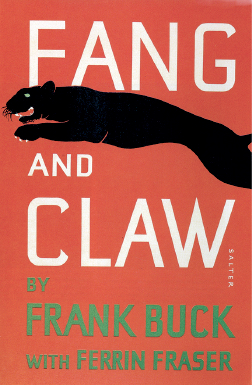 Fang and Claw cover