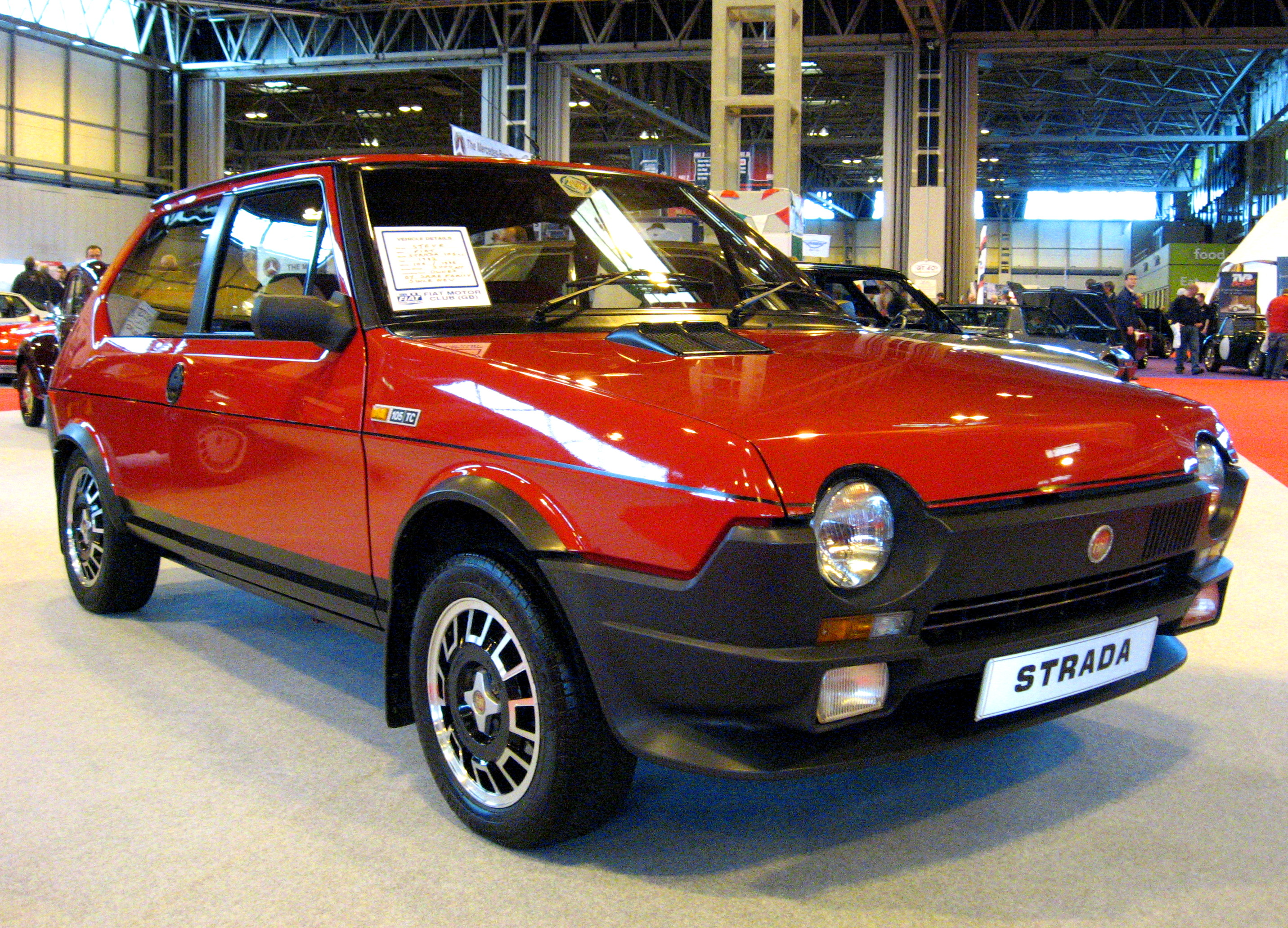 Description fiat strada 105tc