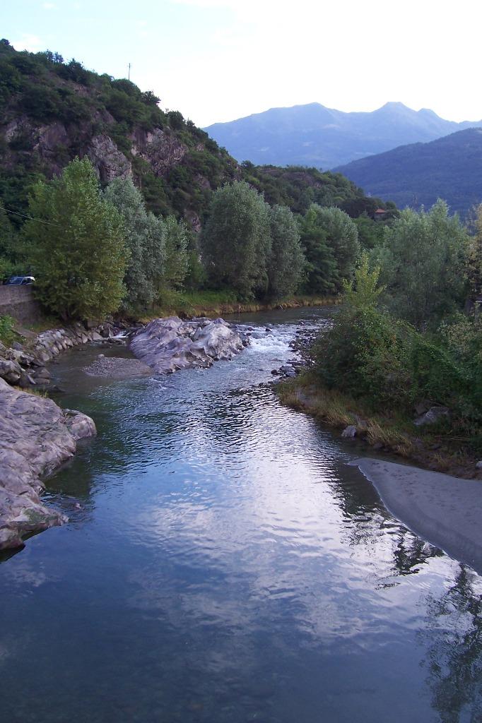 Description fiume oglio - capo di ponte (foto luca giarelli)