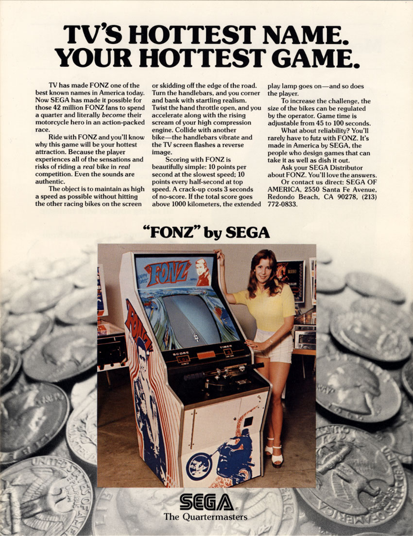 Car Driving Games >> Fonz (video game) - Wikipedia