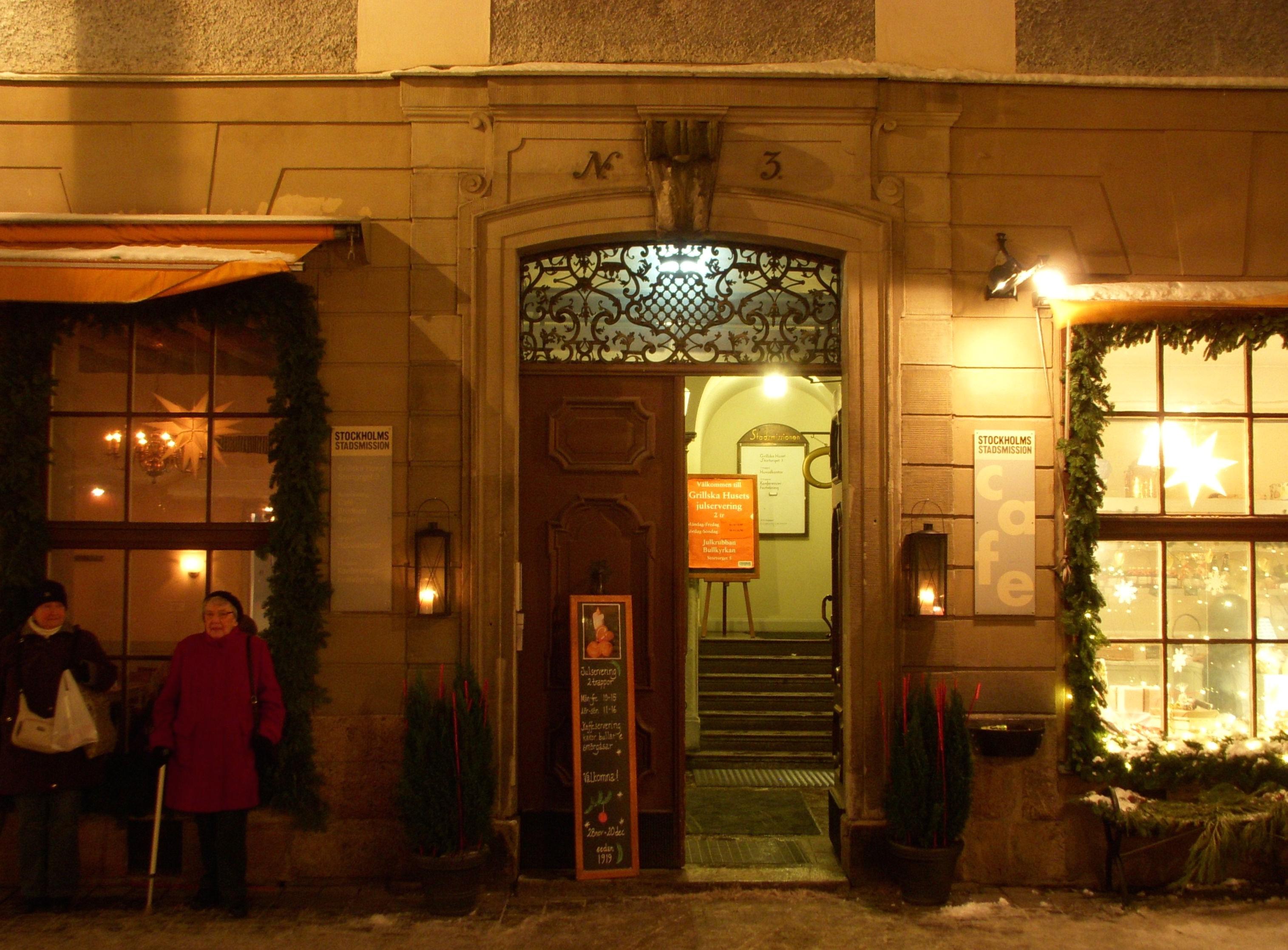 stadsmissionen cafe gamla stan