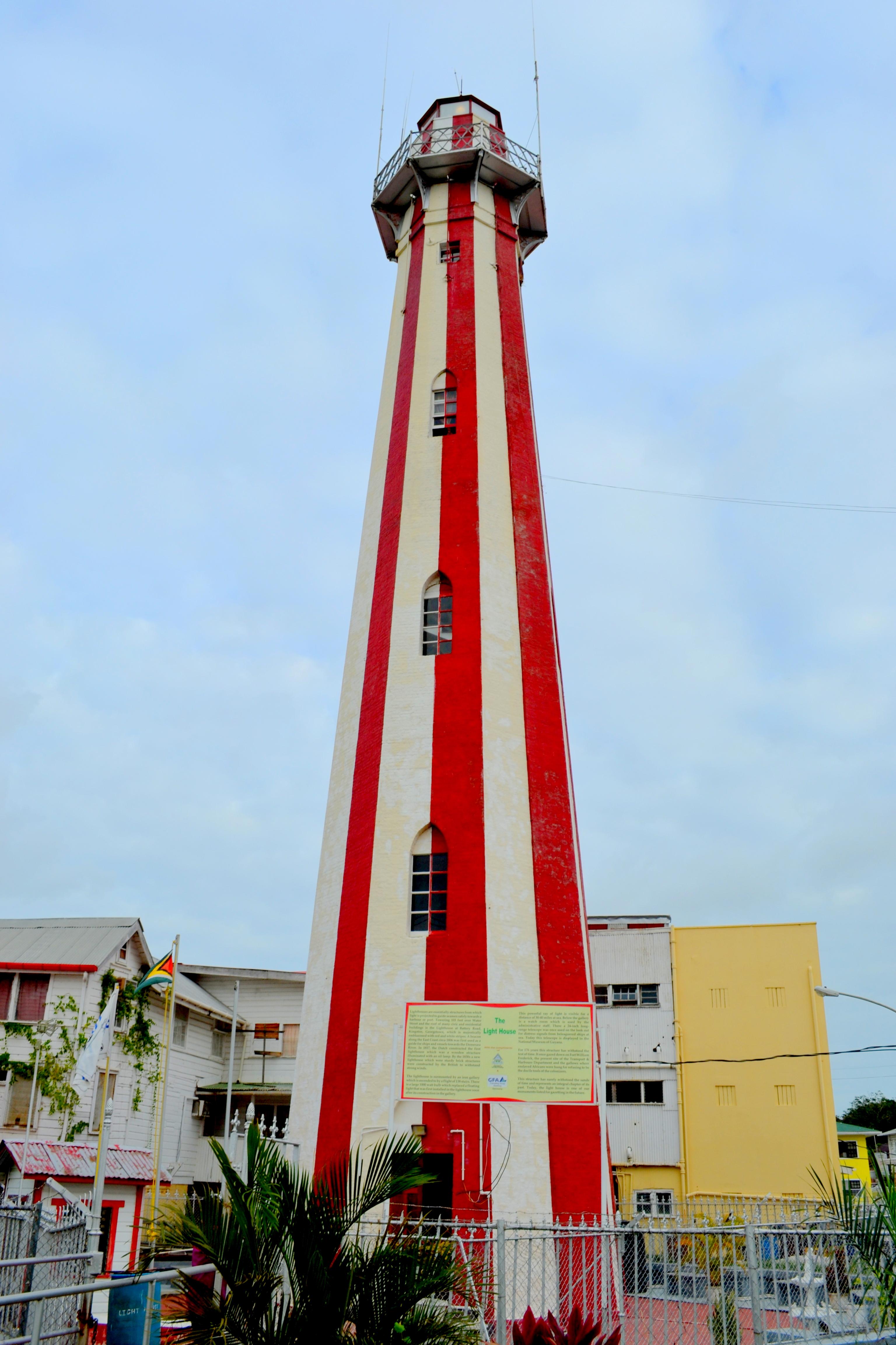 Georgetown Lighthouse Guyana Wikipedia