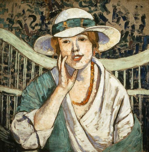 File:Georgette Agutte - The White and Green Hat.jpg