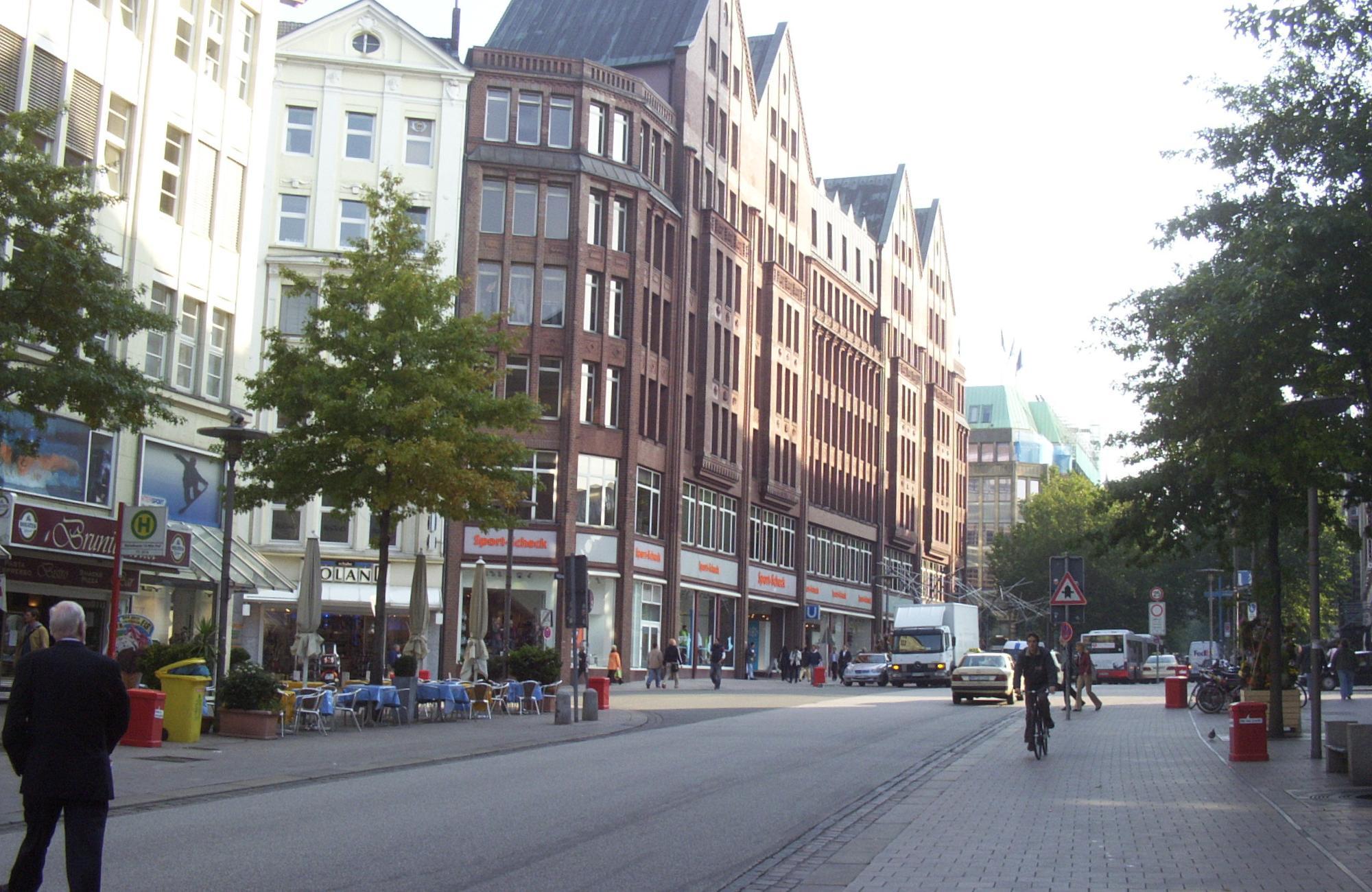 Hifi Hamburg Mönckebergstraße file hamburg mönckebergstraße kreuzung bergstraße jpg wikimedia