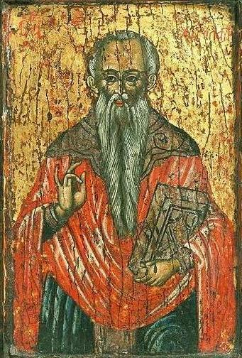Den hellige Charalampos, gresk ikon fra tidlig på 1600-tallet