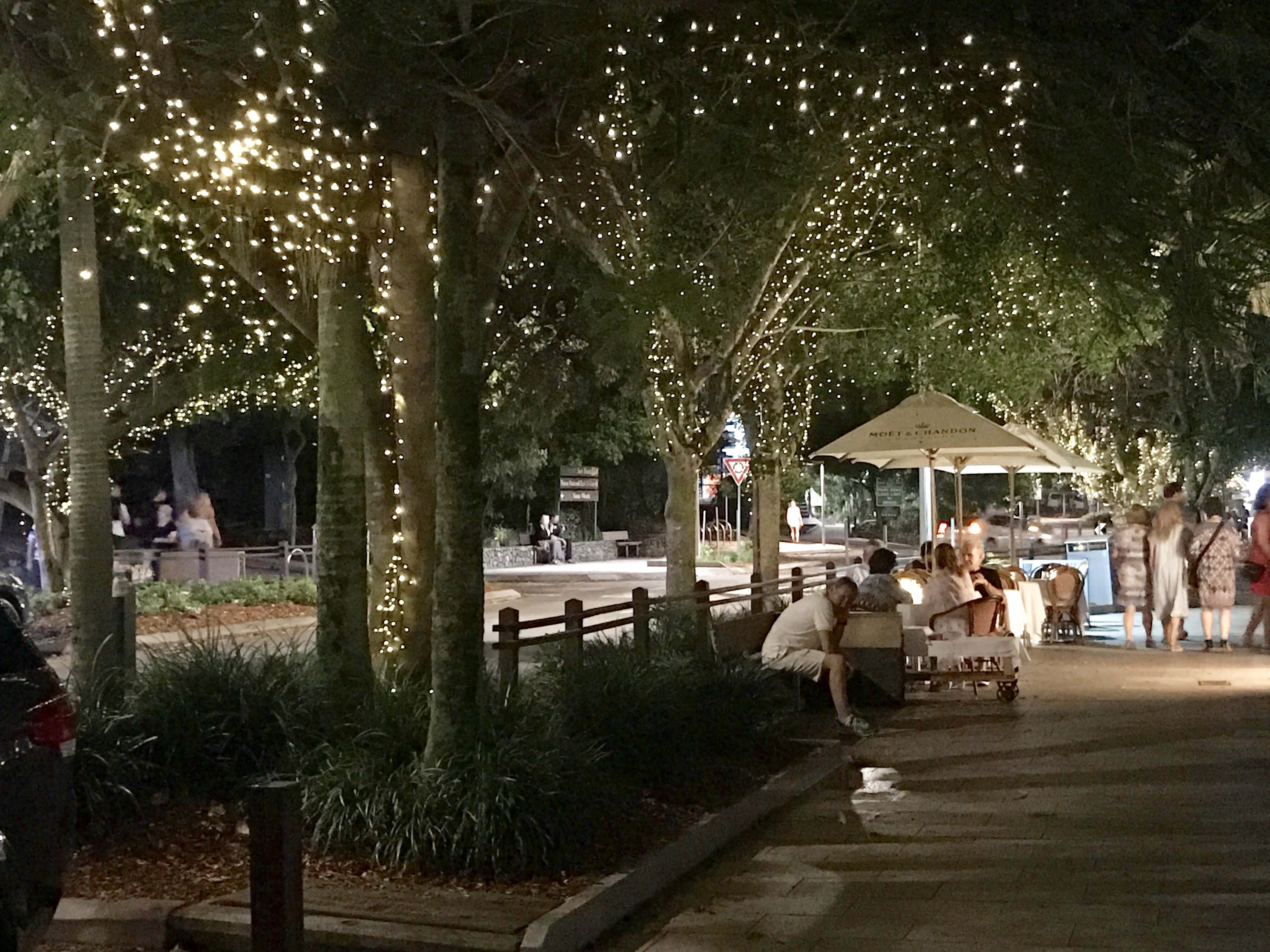 Hastings Street, one of the attractions in Noosa Heads