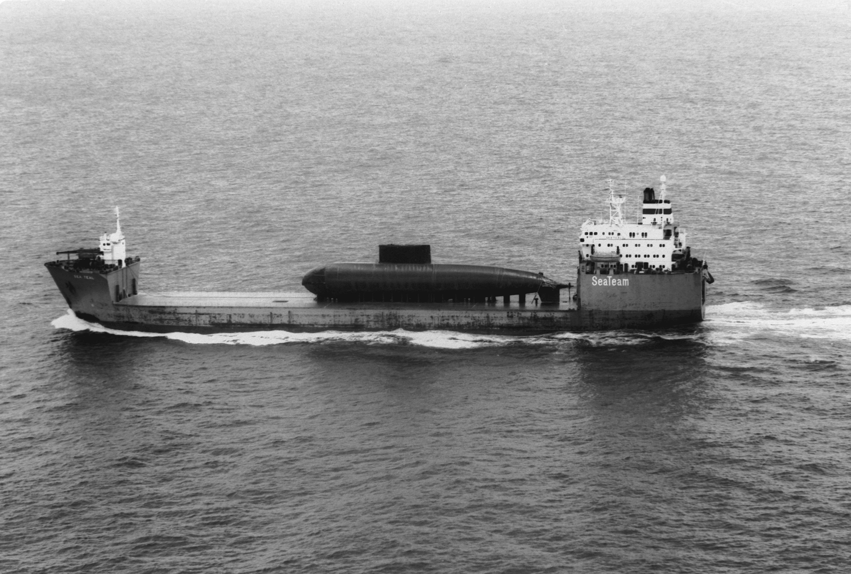 Can A Submarine Travel The St Lawrence