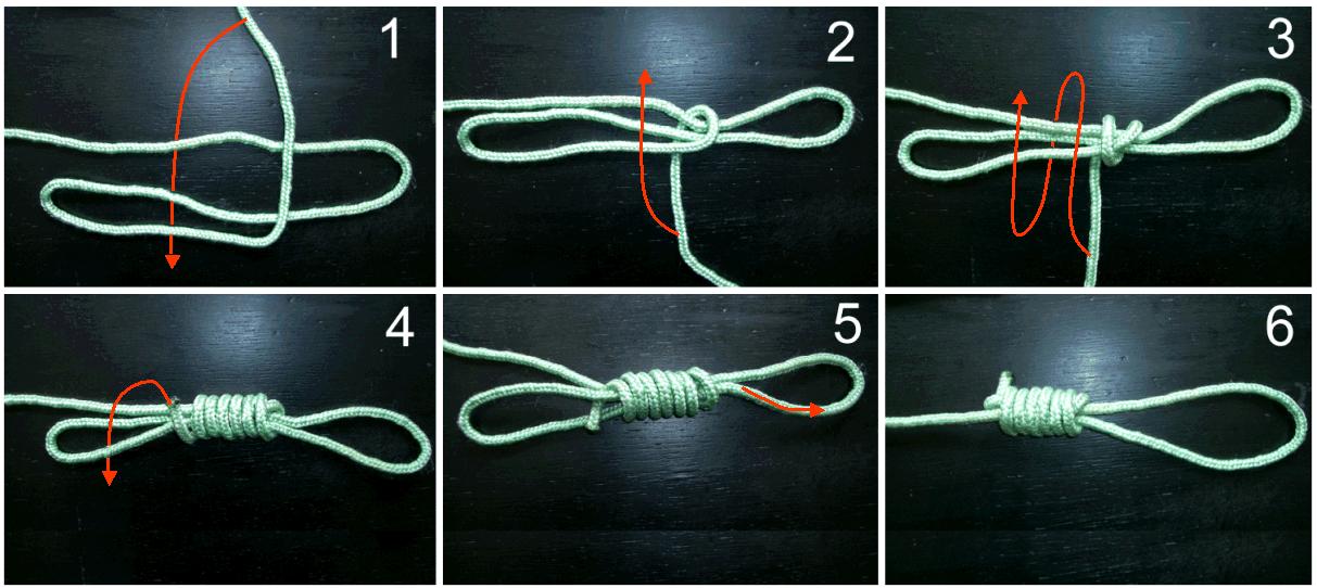 Как сделать петлю из веревки