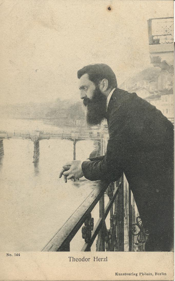 an introduction to the debate between theodore herzl and asher ginsberg regarding the jewish questio Please take the zionism-israelcom reader survey background - when did zionism begin love of zion in jewish history capsule history of zionism.