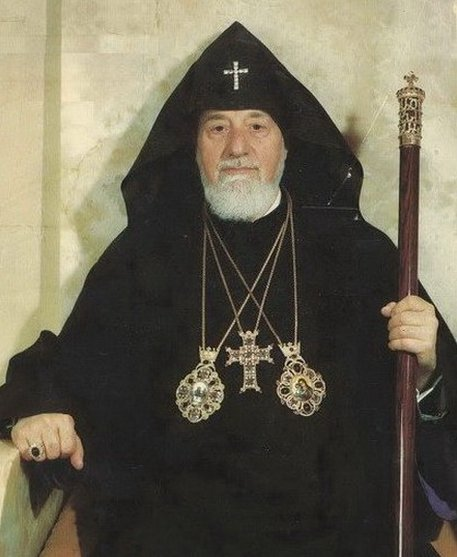 His Holiness Vazken I Supreme Patriarch and Catholicos of All Armenians