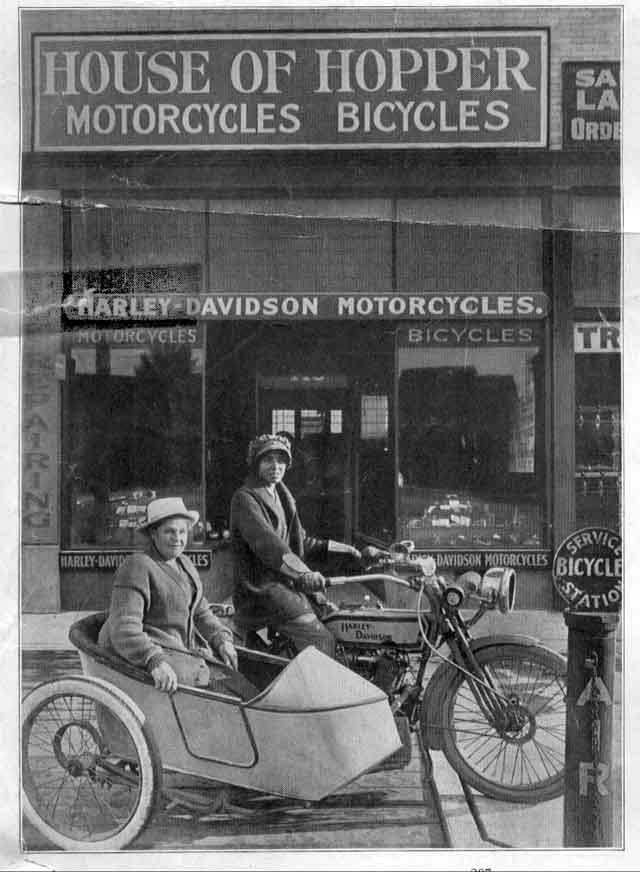 Harley-Davidson-Gespann (1915)
