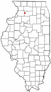Location of Nelson, Illinois
