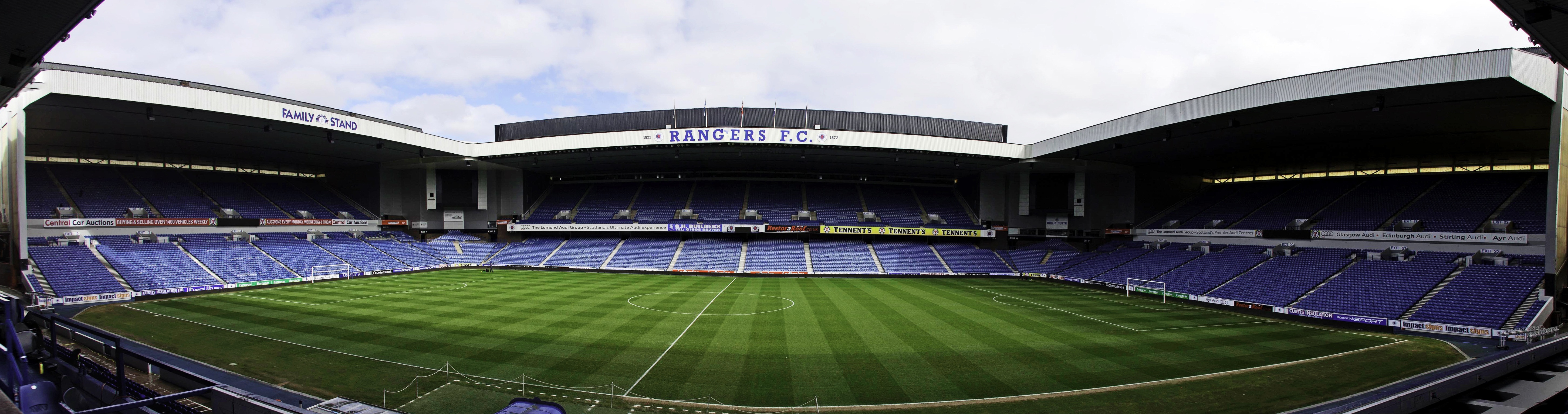 Ibrox Park on Latest When To Write Out Numbers