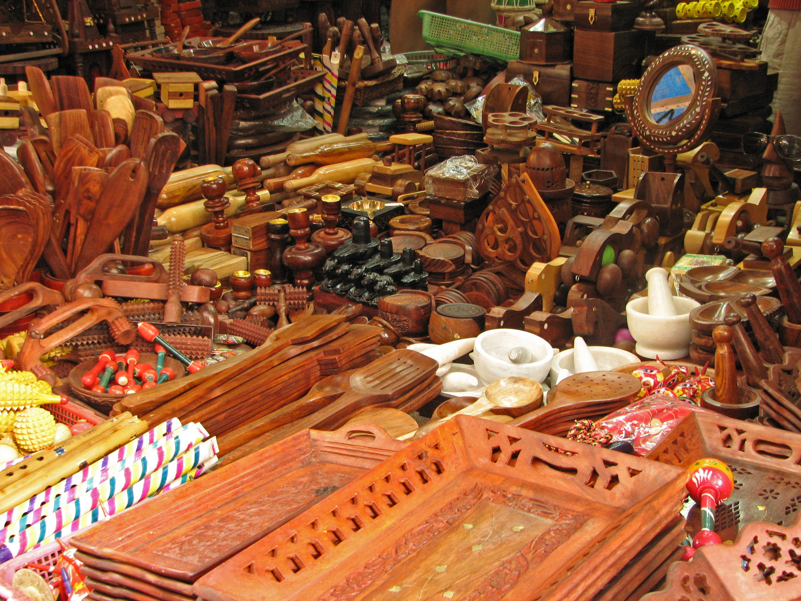 Wooden products of Bhutan