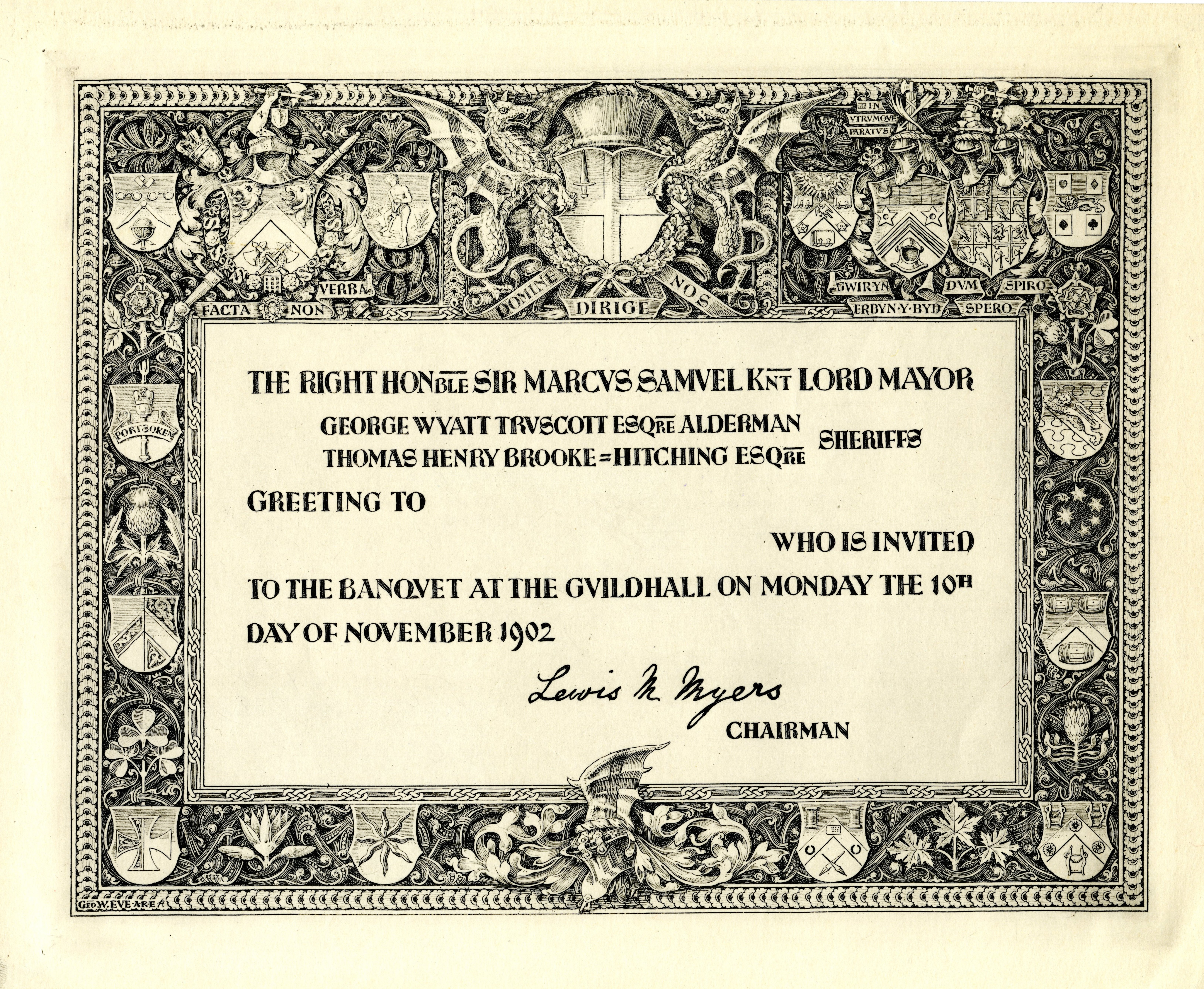 Fileinvitation to the lord mayors banquet 1902 designed by george fileinvitation to the lord mayors banquet 1902 designed by george w eve stopboris Image collections