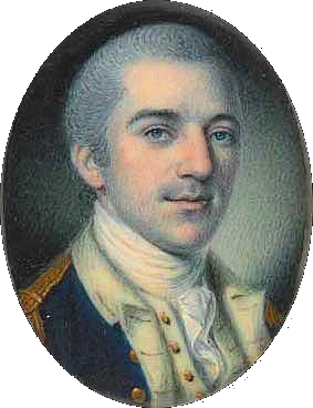 A 1780 miniature portrait of Laurens, by Charles Willson Peale.