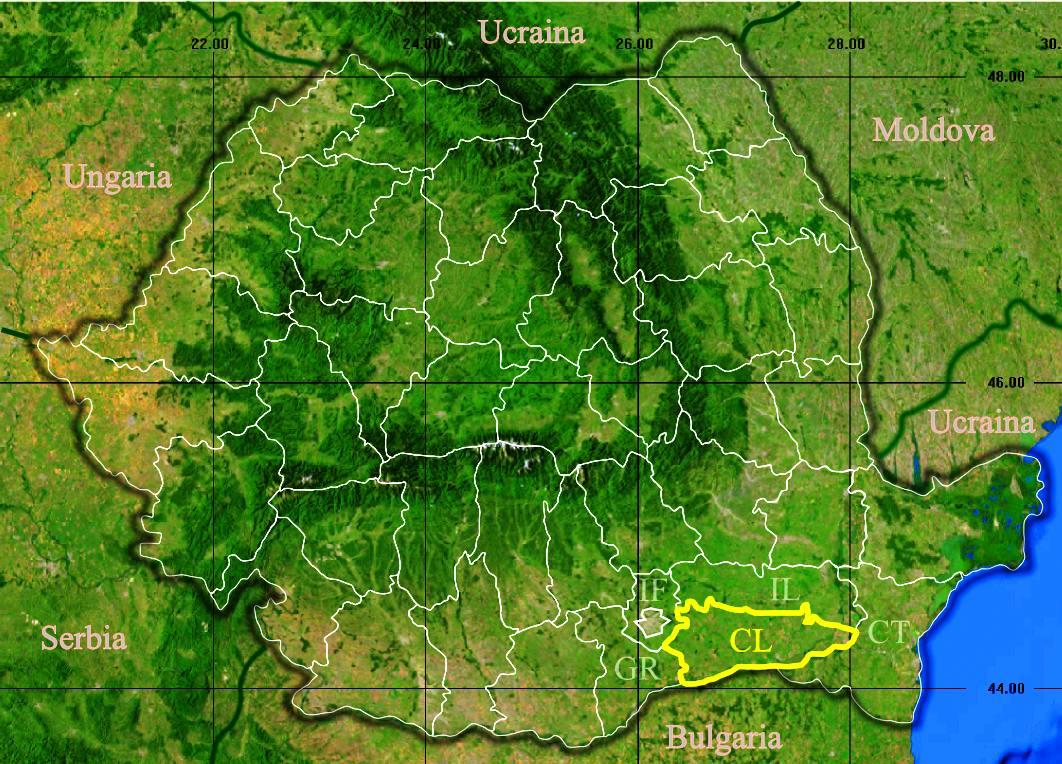 File Judetul Calarasi 3d Map Jpg Wikipedia