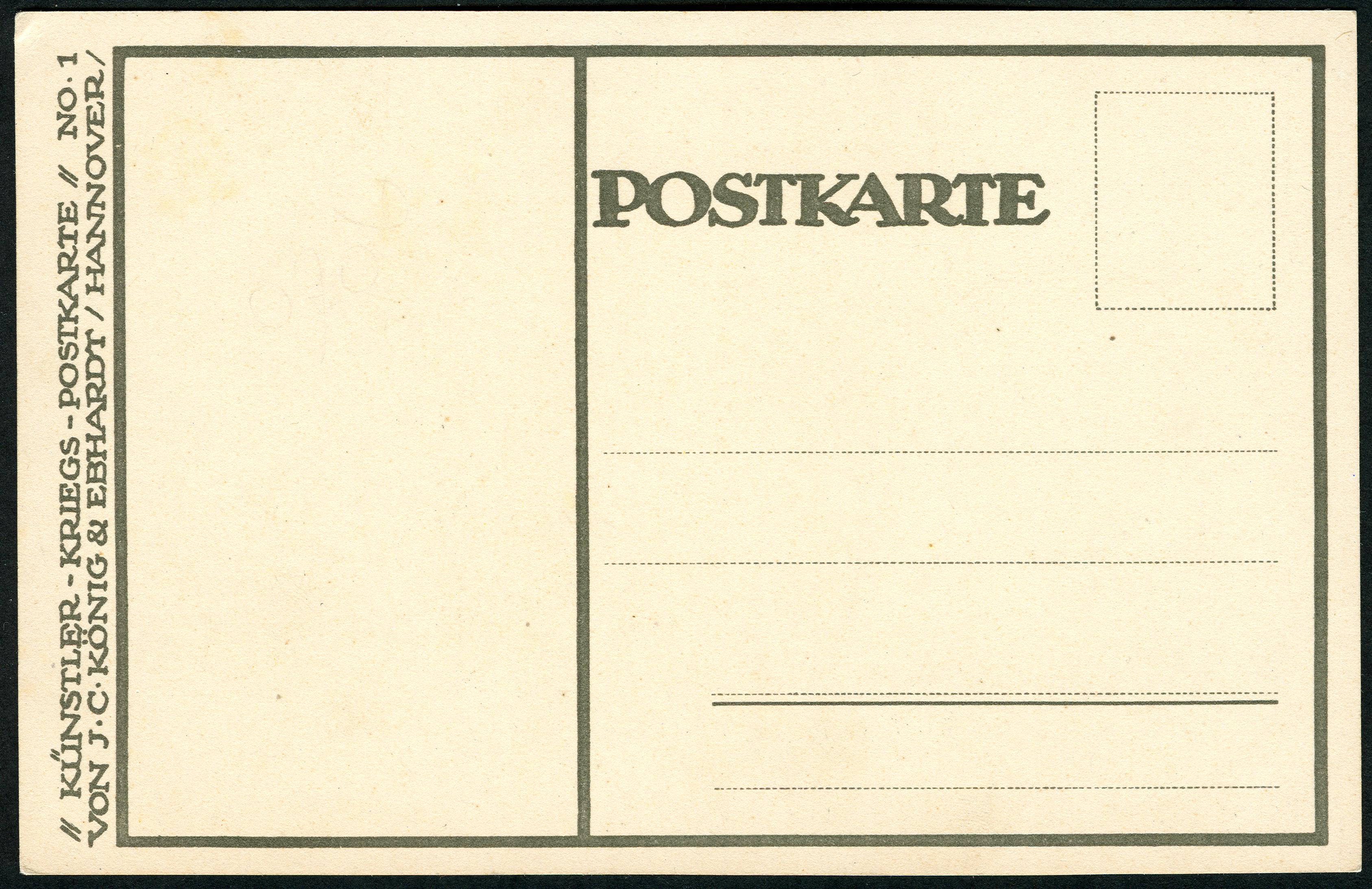 Künstler Hannover file künstler kriegs postkarte no 1 j c könig ebhardt