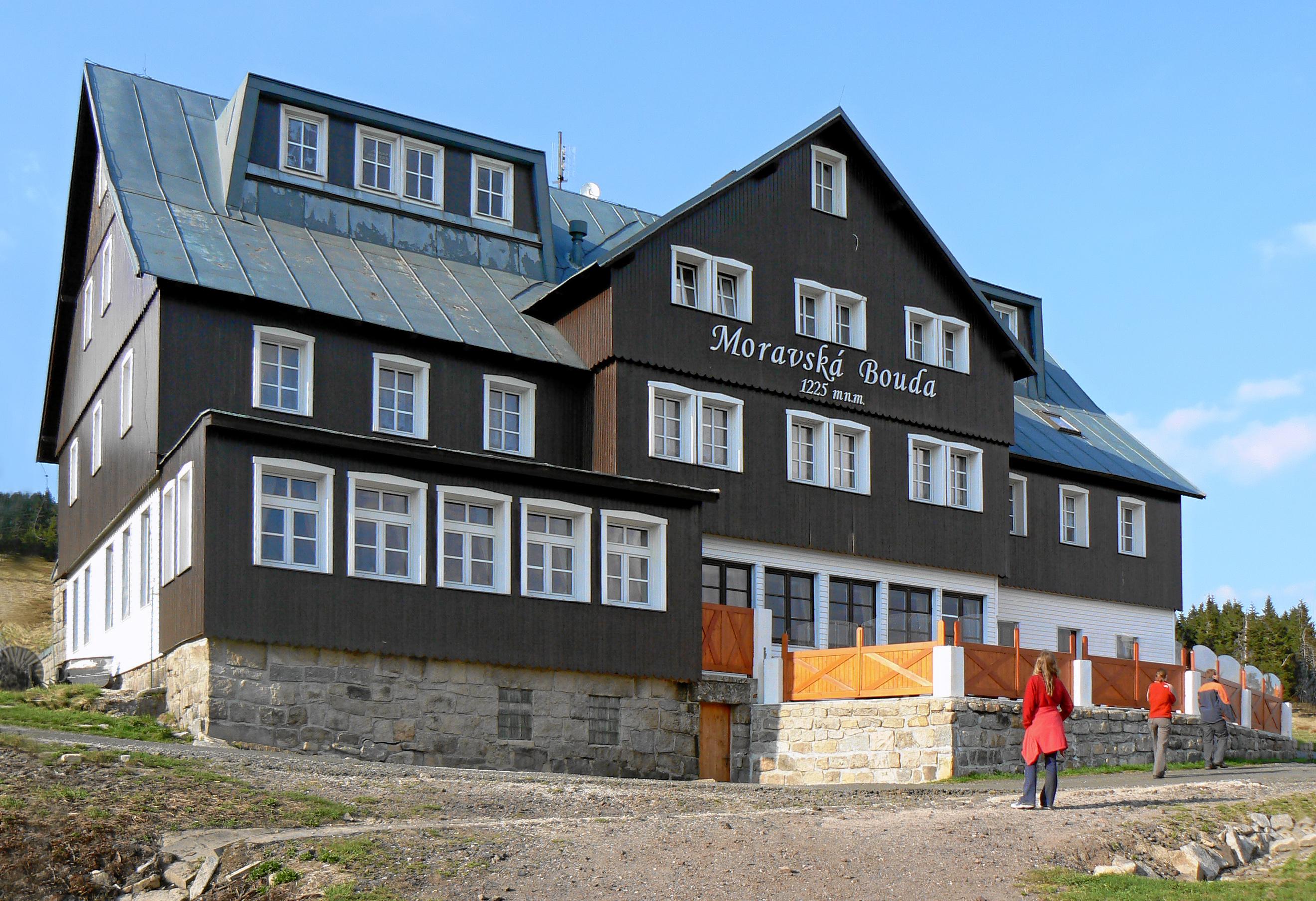 Berghut Moravská bouda