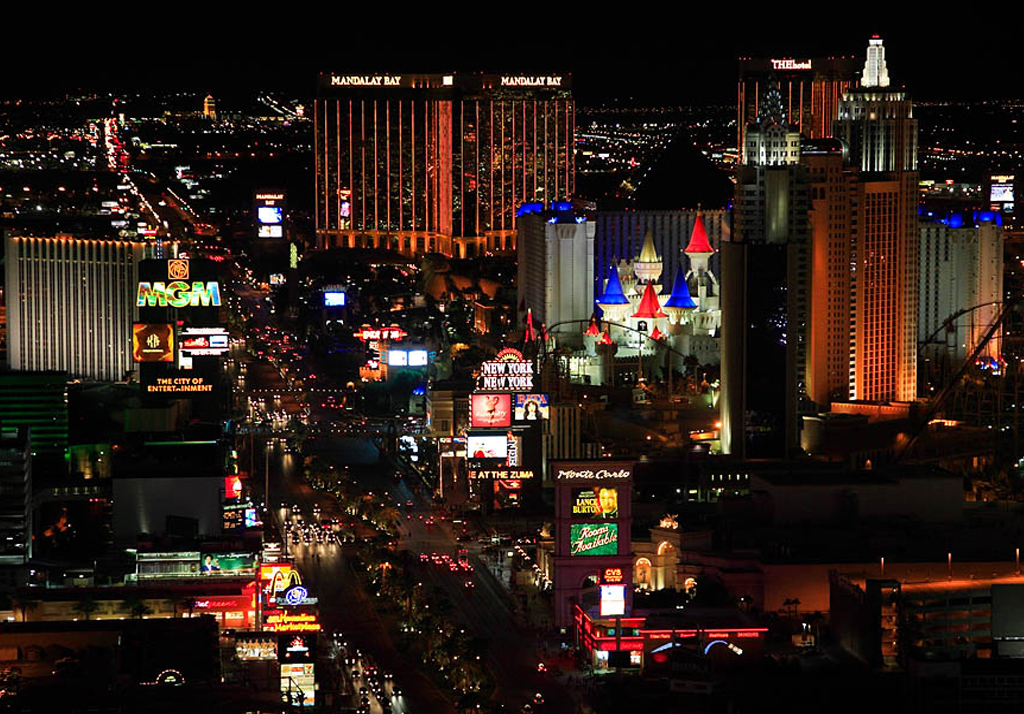 Picture Of The Strip Las Vegas: 40 Magnificent Photos Of Las Vegas Strip In Nevada