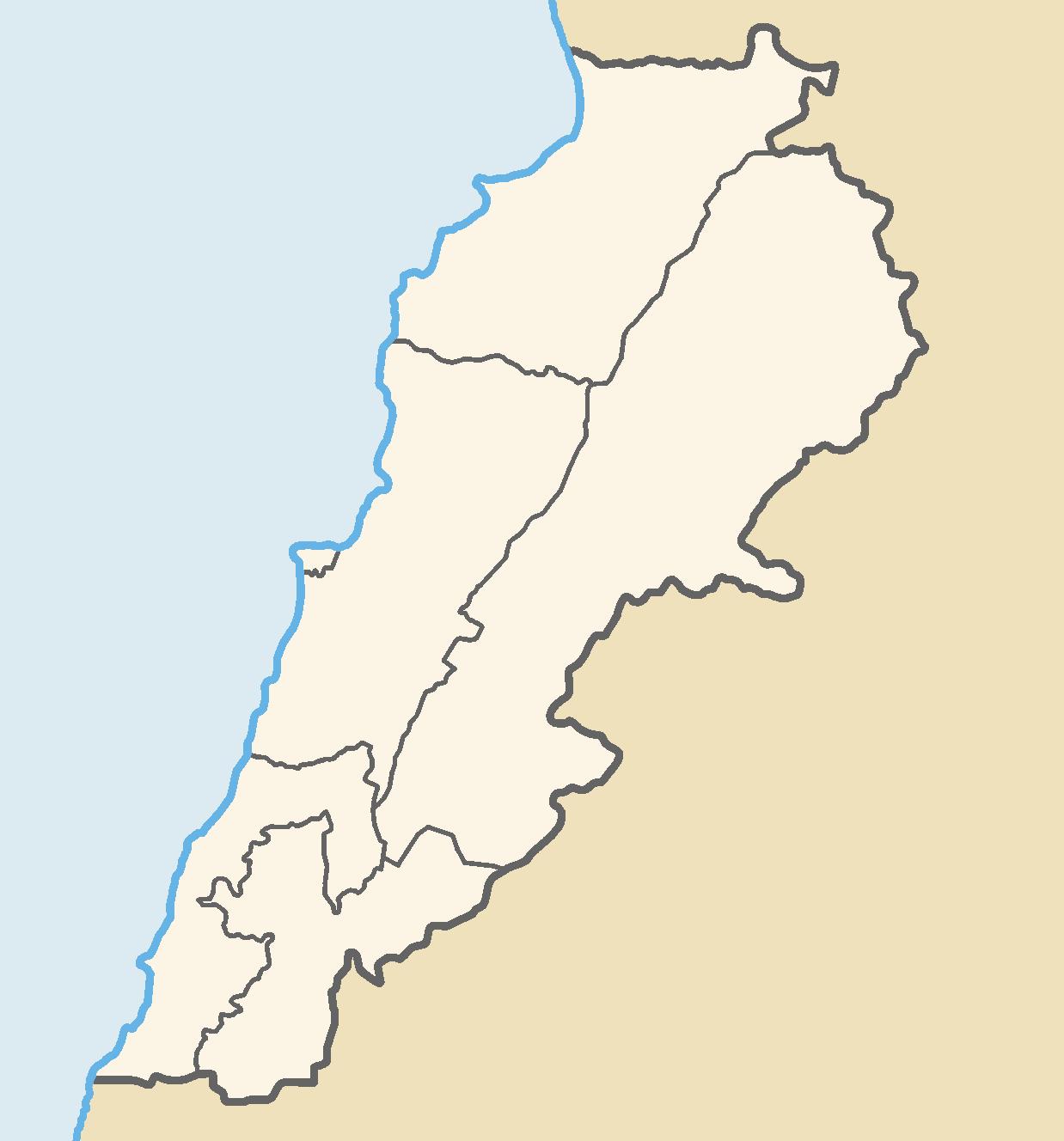 File lebanon governorates color