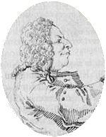 Leonardo Vinci, zeitgenössische Karikatur (Quelle: Wikimedia)