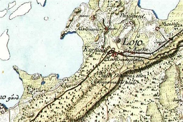 Tiedosto Lohjan Kartta Map Of Lohja 1783 Jpg Wikipedia