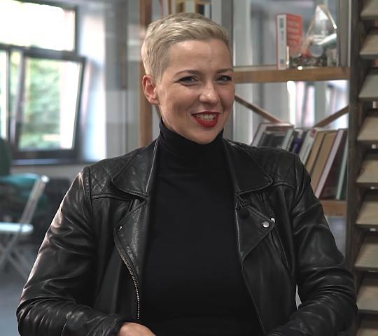 Maria Kalesnikava 2020-08