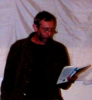 Michael Rosen (Photo credit: Wikipedia). Yes, I know it's grainy, but if I use a Getty Images photo, that would be huge and can't be resized.