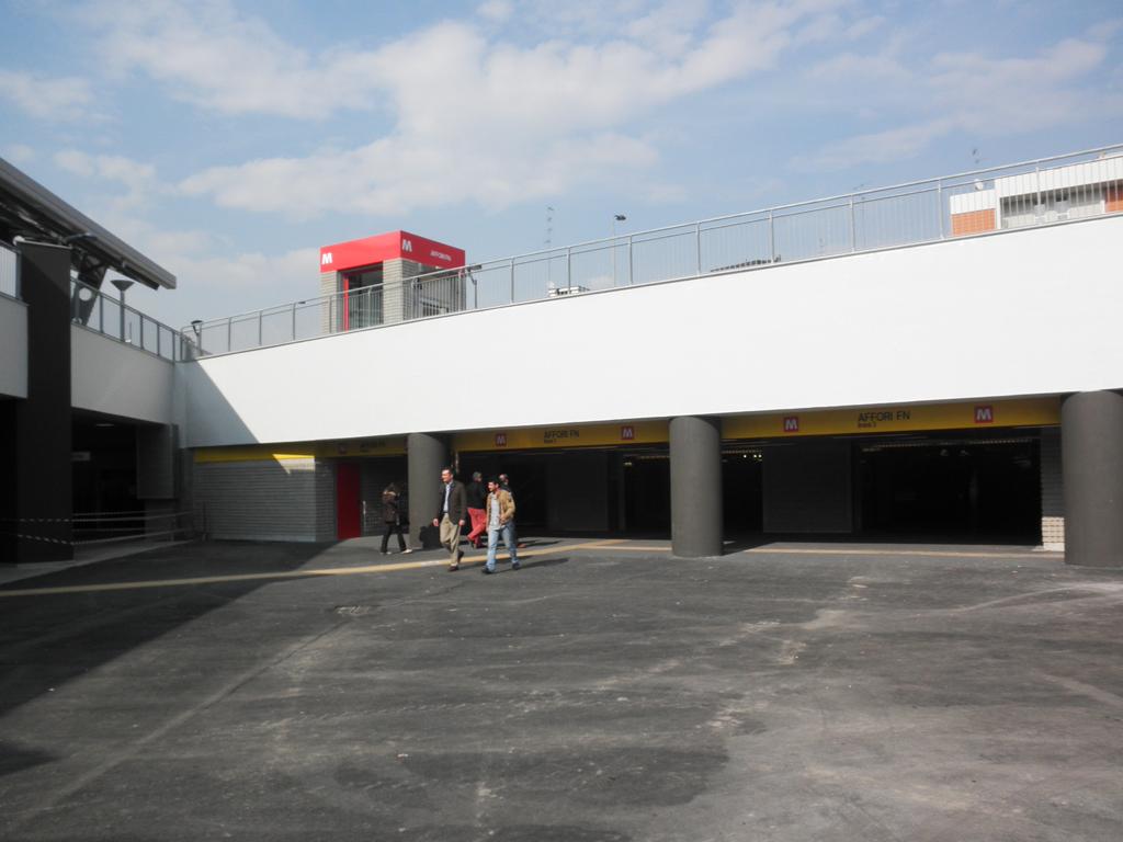 Affori fn metro station wikidata for Porta venezia metro