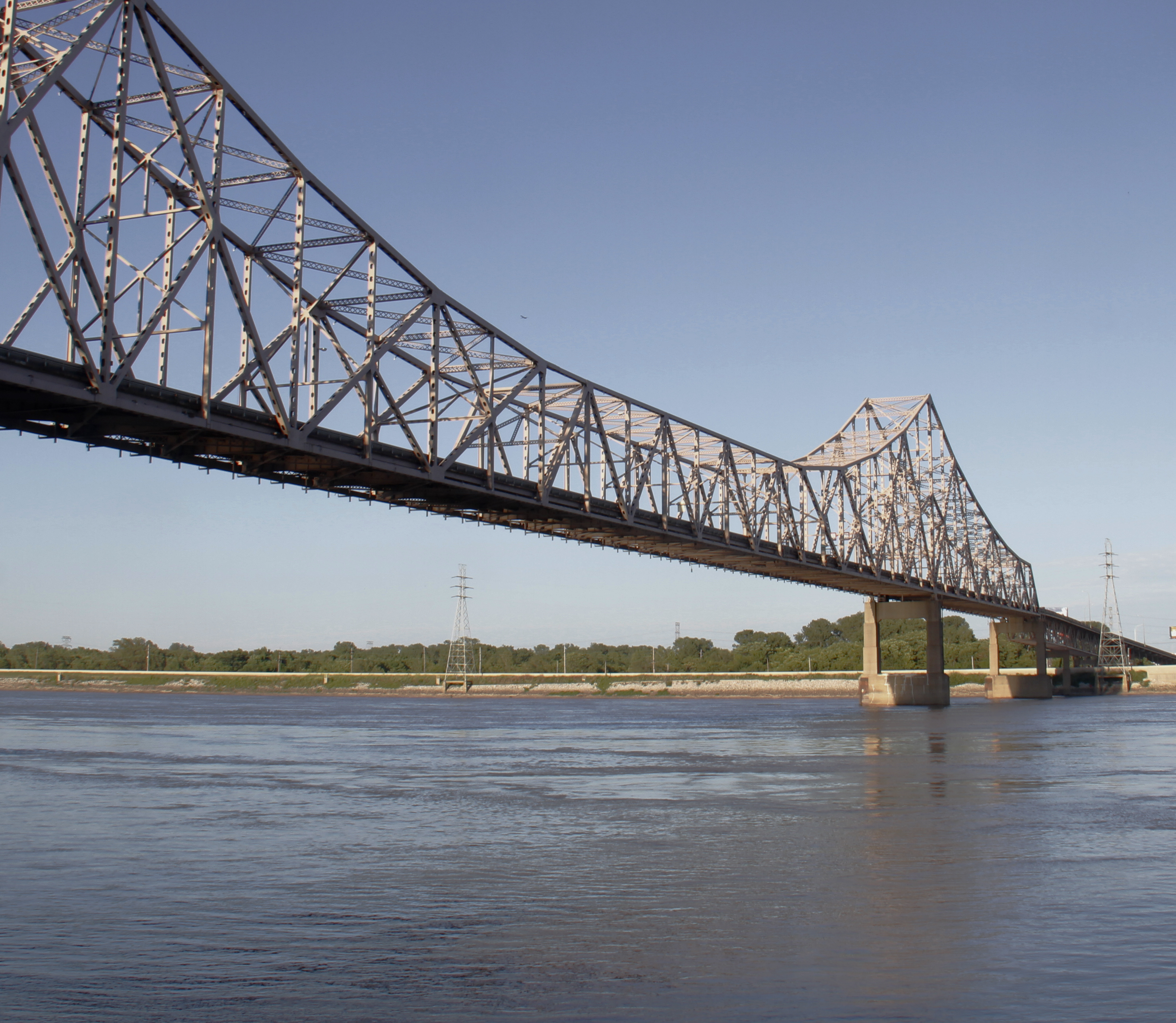 File Mississippi River bridge from St Louis Mo to Wikimedia